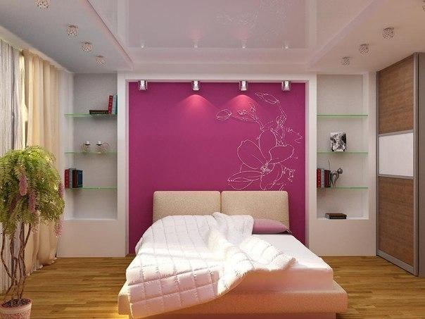 Натяжные потолки двухуровневые для спальни дизайн
