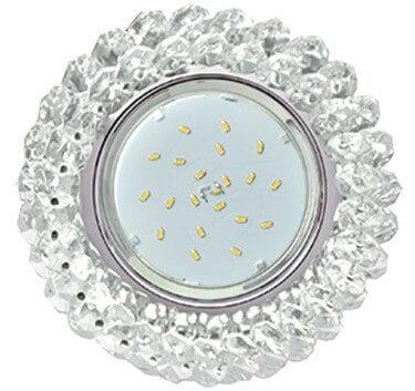 Светильник Ecola GX53 H4 встраиваемый FW53RYECB