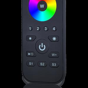 Кнопочный пульт R-4RGB на 4 зоны для RGB ленты | «Профи-Потолков»