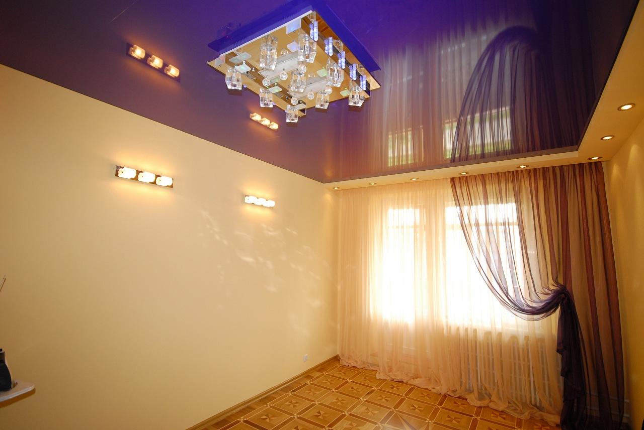 Потолки натяжные фото для зала в самаре