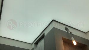 Светопрозрачный натяжной потолок Профи-Потолков