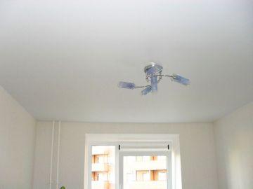 Натяжной потолок на Науки