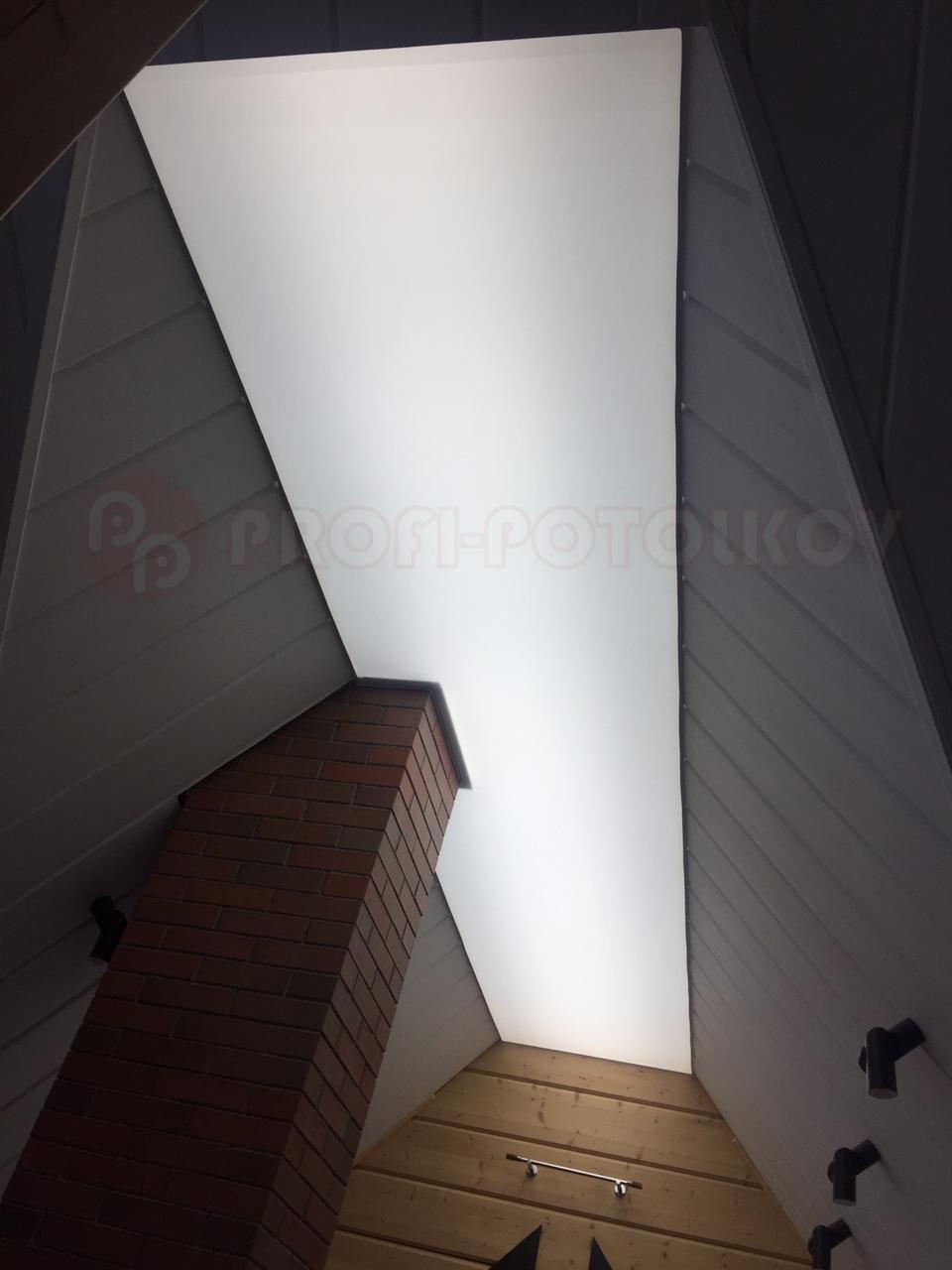 Светопрозрачные натяжные потолки Профи-Потолков