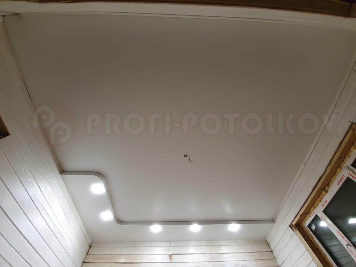 Натяжной потолок с конструкцией Профи-Потолков