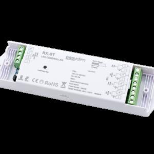 Фото универсальный приемник-контроллер RX-ST для светодиодных лент RGB, RGB+W, MIX